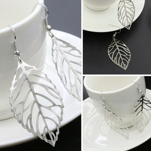 NEW Lot of 3 wholesale paper thin LEAF EARRINGS